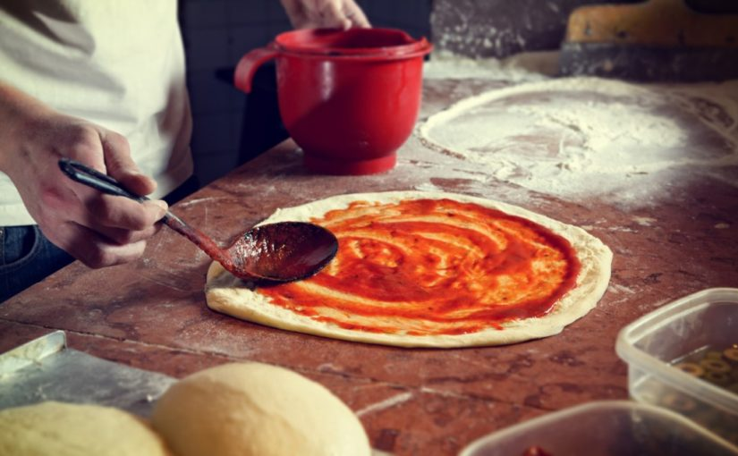przepis na szybką pizze bez drożdży